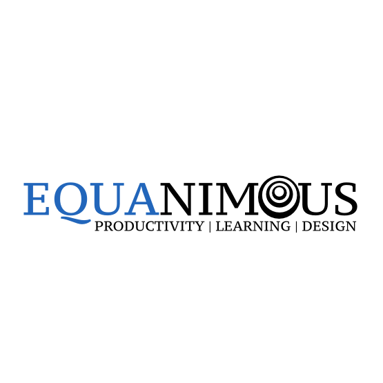Logo Design by Widy Jantiko - Entry No. 370 in the Logo Design Contest Logo Design : EQUANIMOUS : Productivity | Learning | Design.