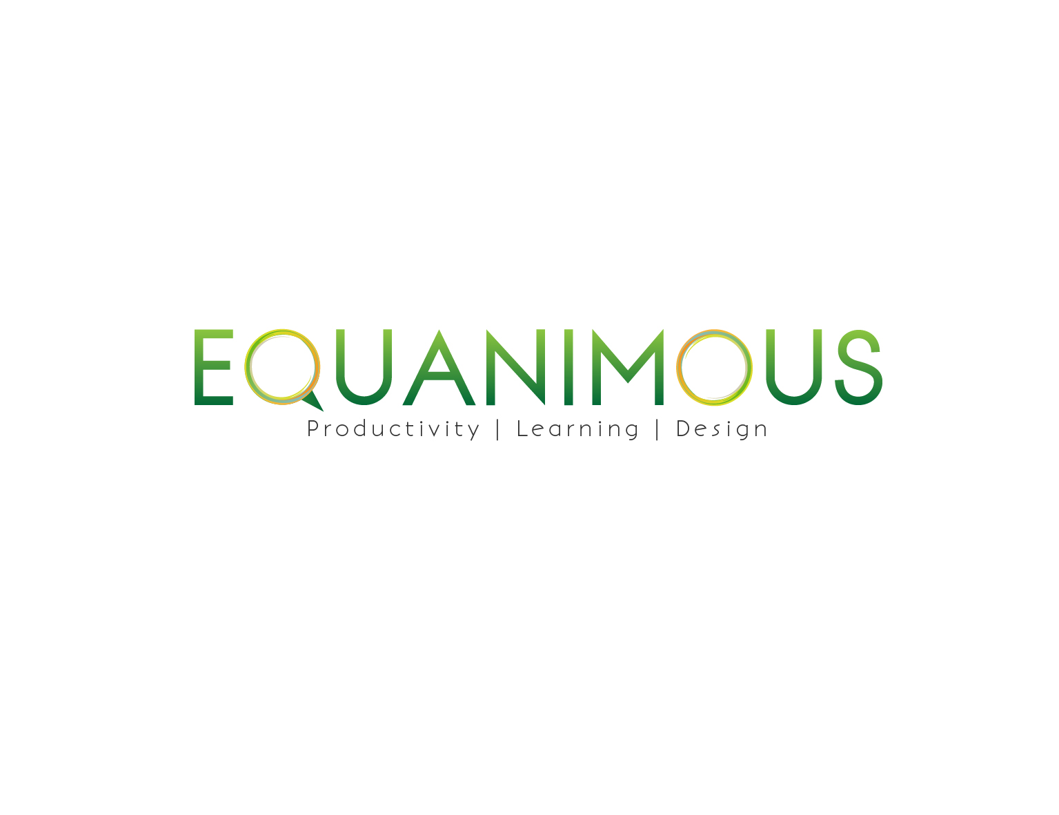 Logo Design by 3draw - Entry No. 375 in the Logo Design Contest Logo Design : EQUANIMOUS : Productivity | Learning | Design.