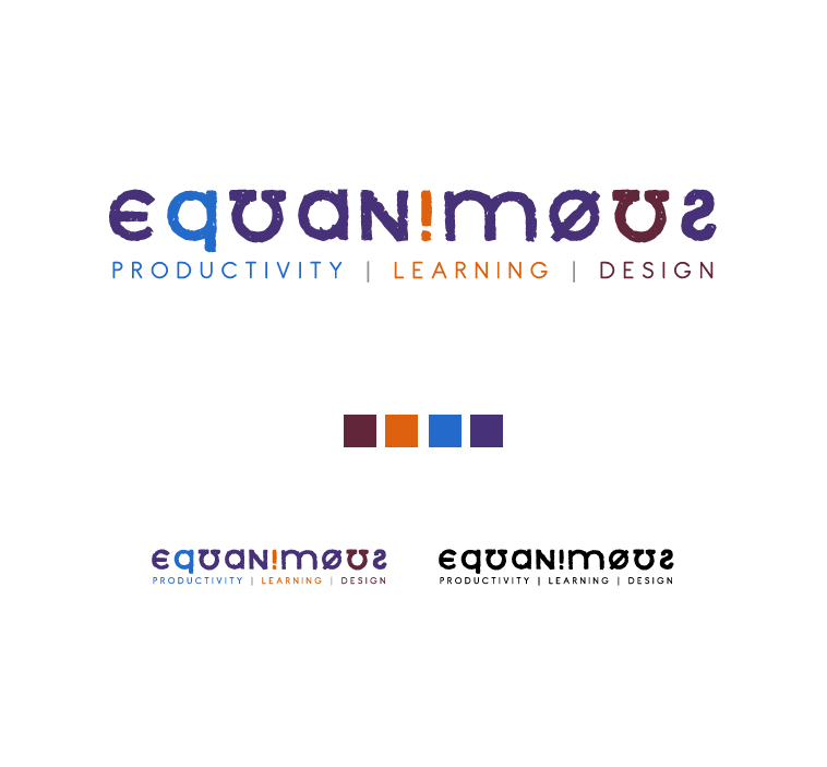Logo Design by elmd - Entry No. 380 in the Logo Design Contest Logo Design : EQUANIMOUS : Productivity | Learning | Design.