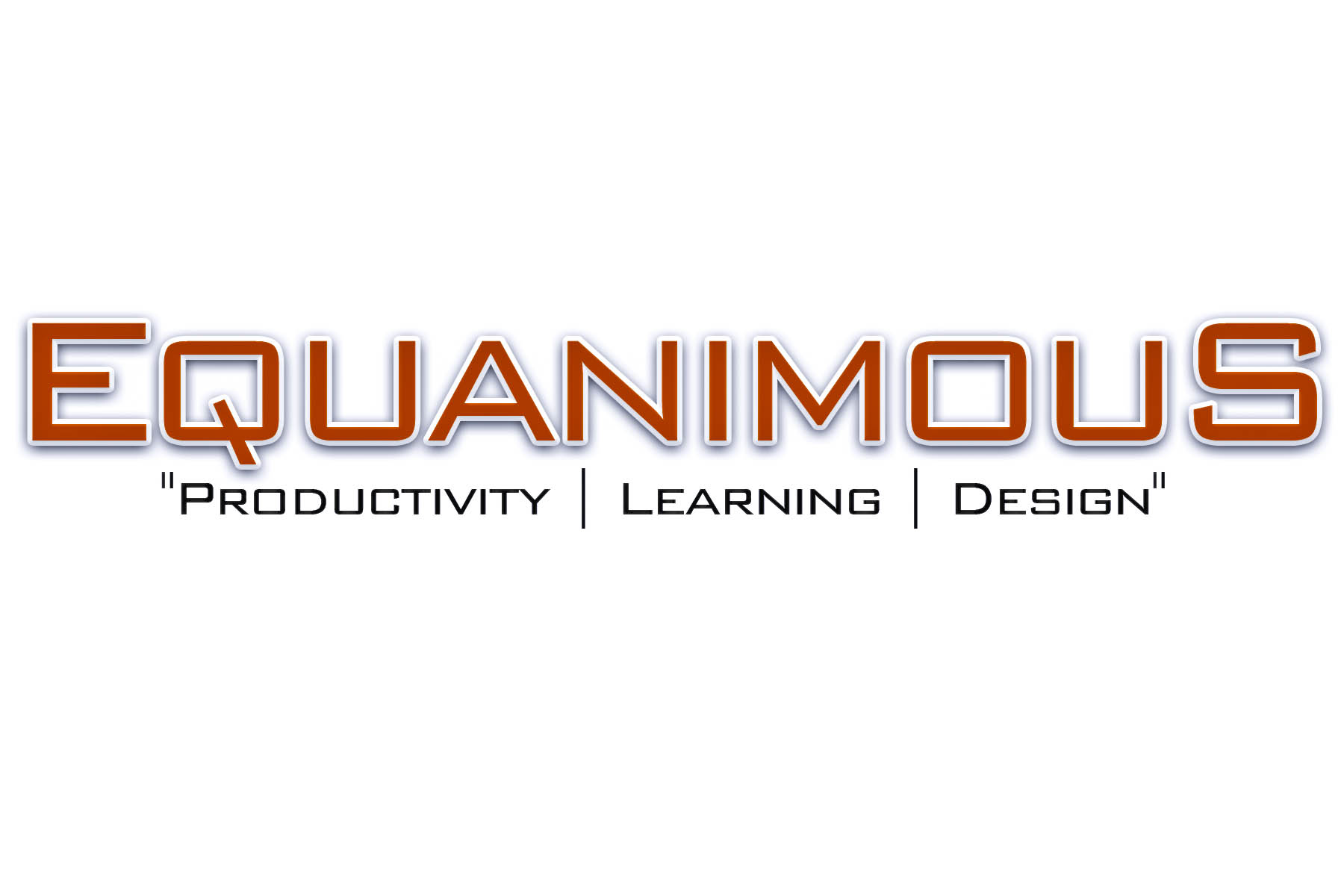 Logo Design by Eduard De Leon - Entry No. 384 in the Logo Design Contest Logo Design : EQUANIMOUS : Productivity | Learning | Design.