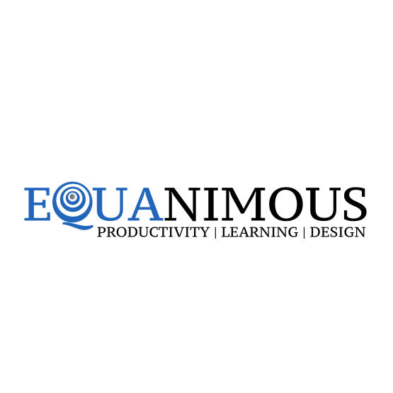 Logo Design by Widy Jantiko - Entry No. 385 in the Logo Design Contest Logo Design : EQUANIMOUS : Productivity | Learning | Design.