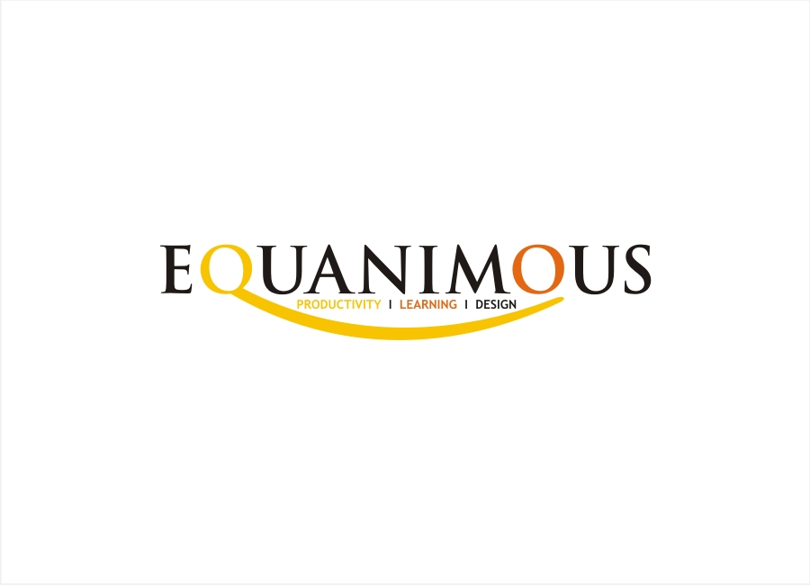 Logo Design by Private User - Entry No. 390 in the Logo Design Contest Logo Design : EQUANIMOUS : Productivity | Learning | Design.