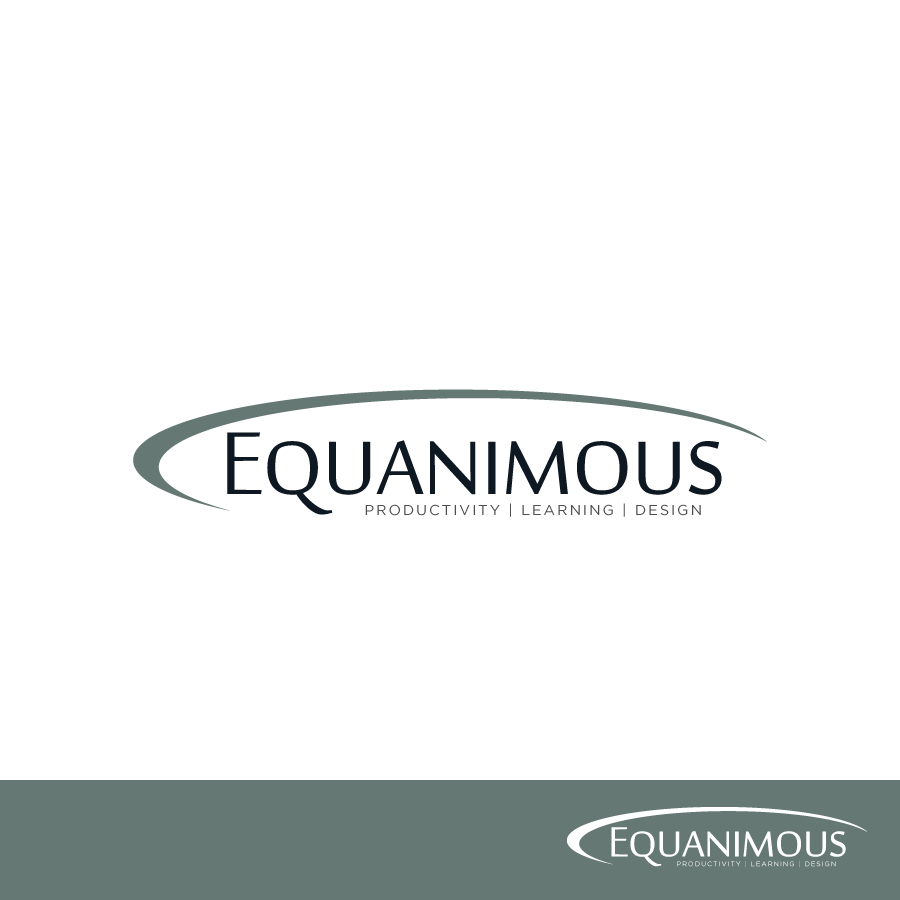 Logo Design by Edward Goodwin - Entry No. 394 in the Logo Design Contest Logo Design : EQUANIMOUS : Productivity | Learning | Design.