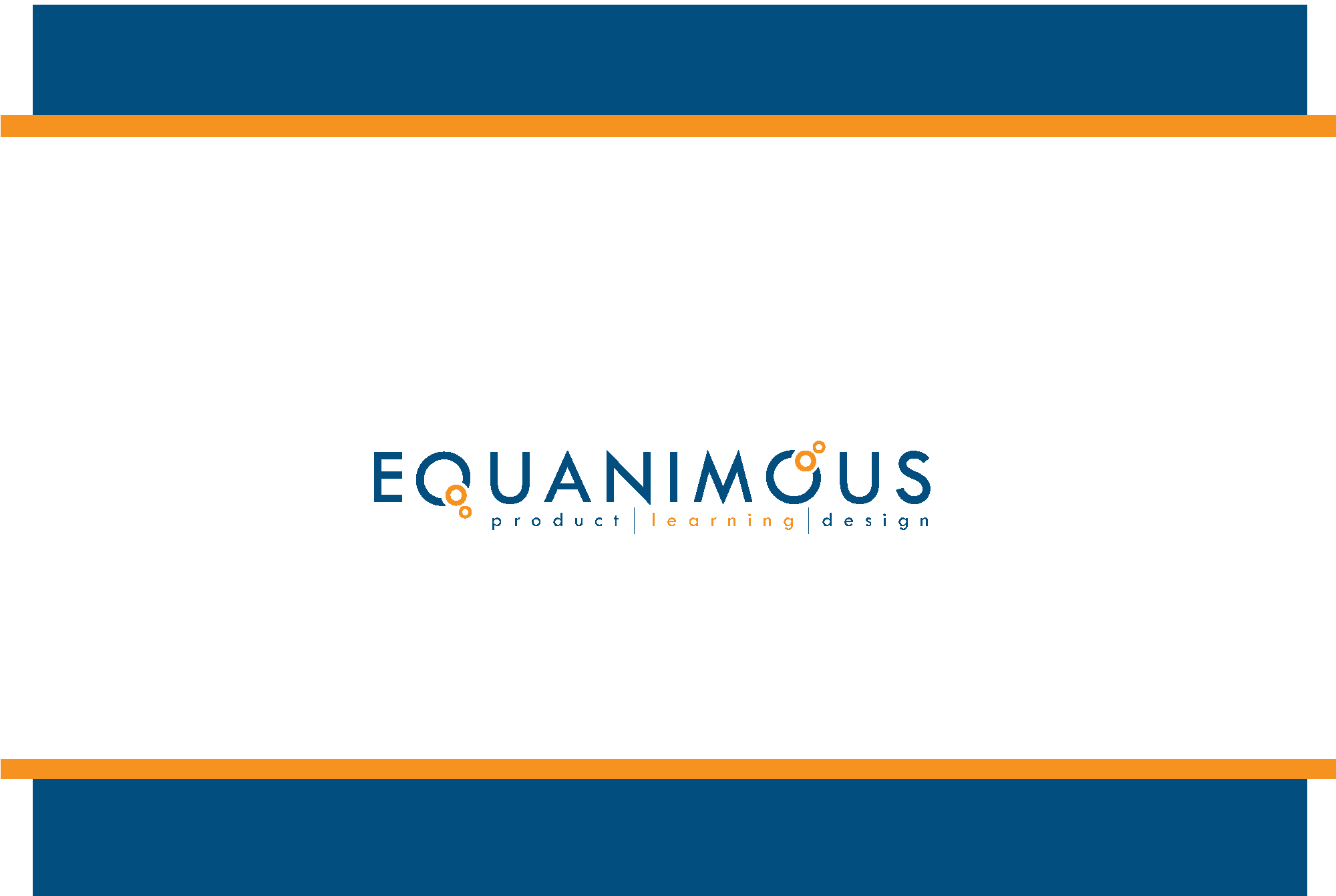 Logo Design by Ryan Hortizuela - Entry No. 396 in the Logo Design Contest Logo Design : EQUANIMOUS : Productivity | Learning | Design.