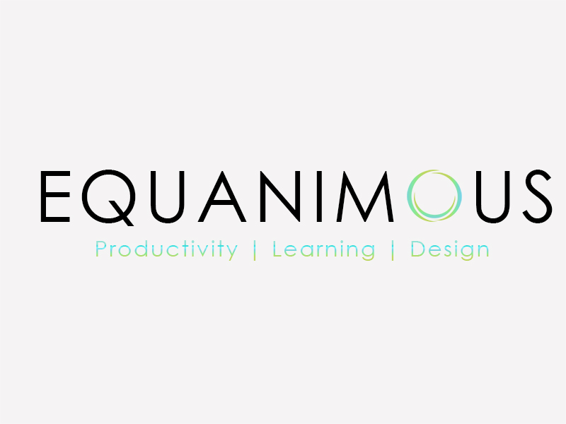 Logo Design by Mythos Designs - Entry No. 397 in the Logo Design Contest Logo Design : EQUANIMOUS : Productivity | Learning | Design.