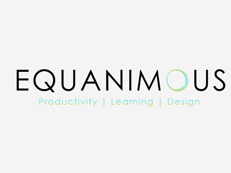 Logo Design by Mythos Designs - Entry No. 398 in the Logo Design Contest Logo Design : EQUANIMOUS : Productivity | Learning | Design.