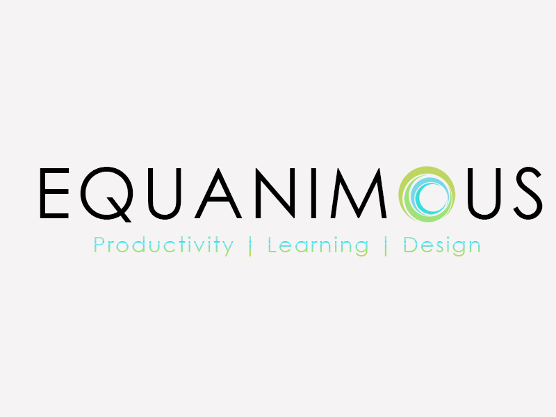Logo Design by Mythos Designs - Entry No. 399 in the Logo Design Contest Logo Design : EQUANIMOUS : Productivity | Learning | Design.