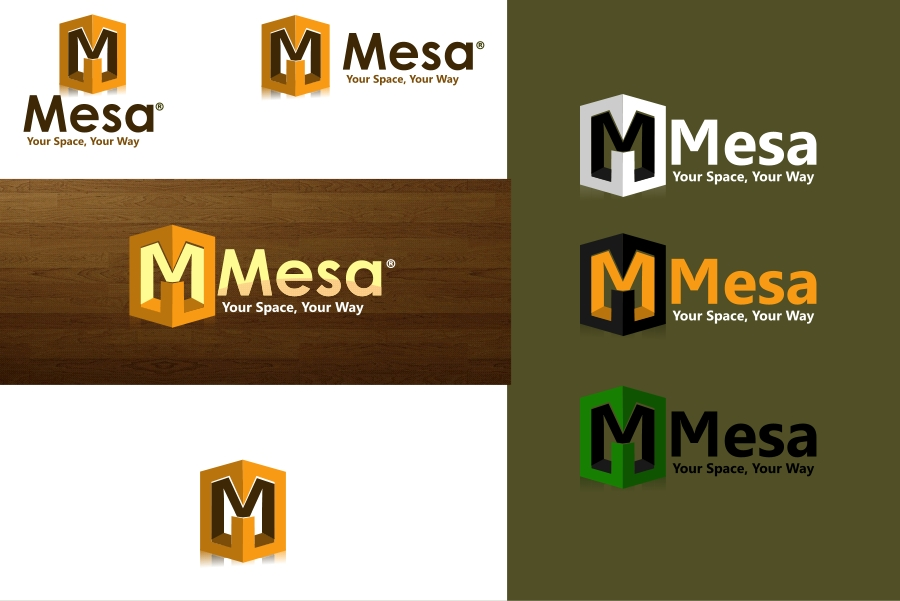Logo Design by Private User - Entry No. 63 in the Logo Design Contest Logo Design for Mesa.