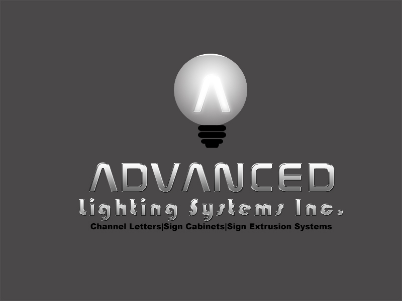 Logo Design by Mythos Designs - Entry No. 130 in the Logo Design Contest New Logo Design Needed for  Company Advanced Lighting Systems Inc..