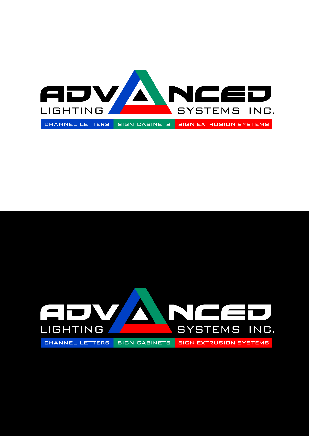 Logo Design by Wilfredo Mendoza - Entry No. 139 in the Logo Design Contest New Logo Design Needed for  Company Advanced Lighting Systems Inc..