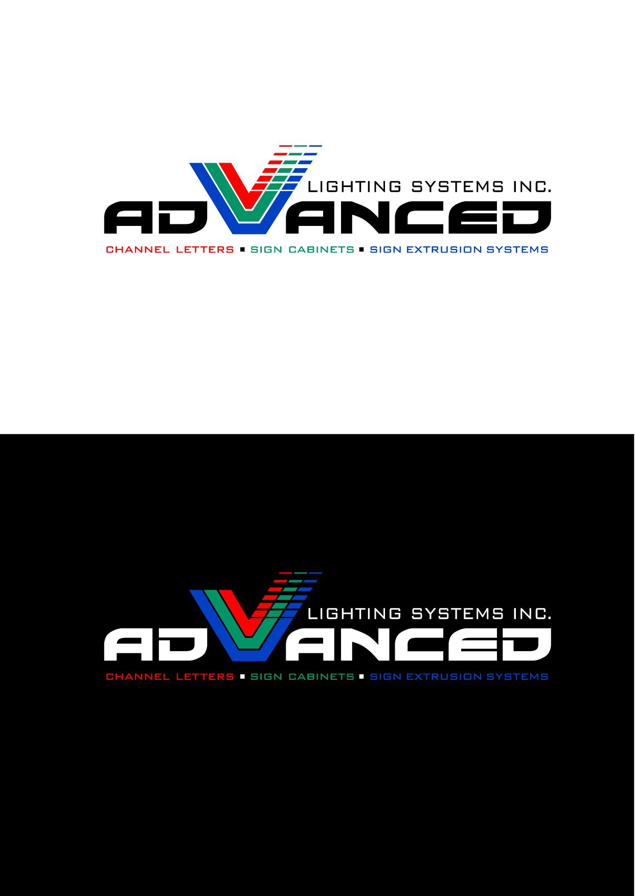 Logo Design by Wilfredo Mendoza - Entry No. 140 in the Logo Design Contest New Logo Design Needed for  Company Advanced Lighting Systems Inc..