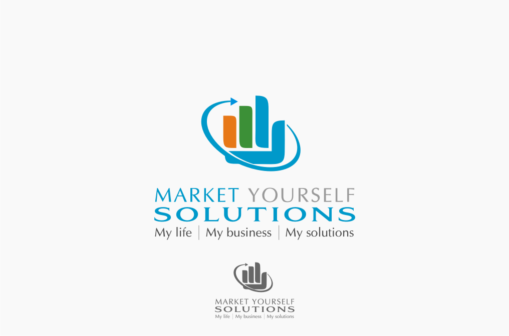 Logo Design by graphicleaf - Entry No. 8 in the Logo Design Contest Fun Logo Design for Market Yourself Solutions.