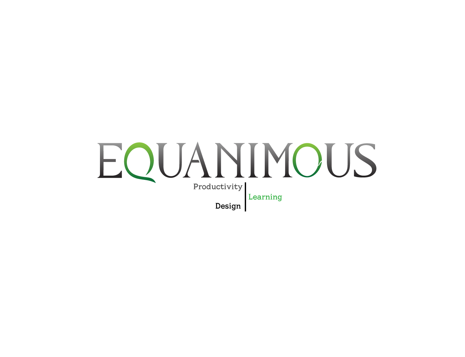 Logo Design by 3draw - Entry No. 411 in the Logo Design Contest Logo Design : EQUANIMOUS : Productivity | Learning | Design.