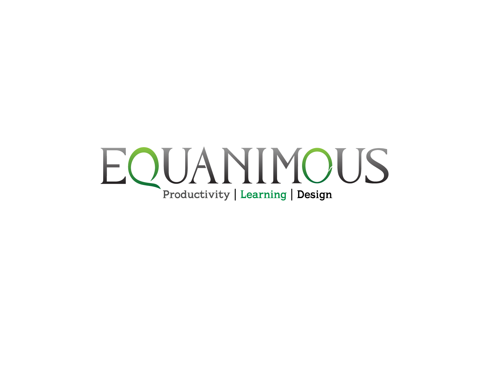 Logo Design by 3draw - Entry No. 412 in the Logo Design Contest Logo Design : EQUANIMOUS : Productivity | Learning | Design.