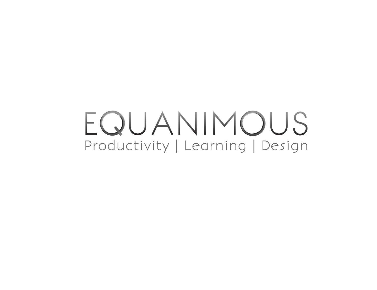 Logo Design by 3draw - Entry No. 413 in the Logo Design Contest Logo Design : EQUANIMOUS : Productivity | Learning | Design.