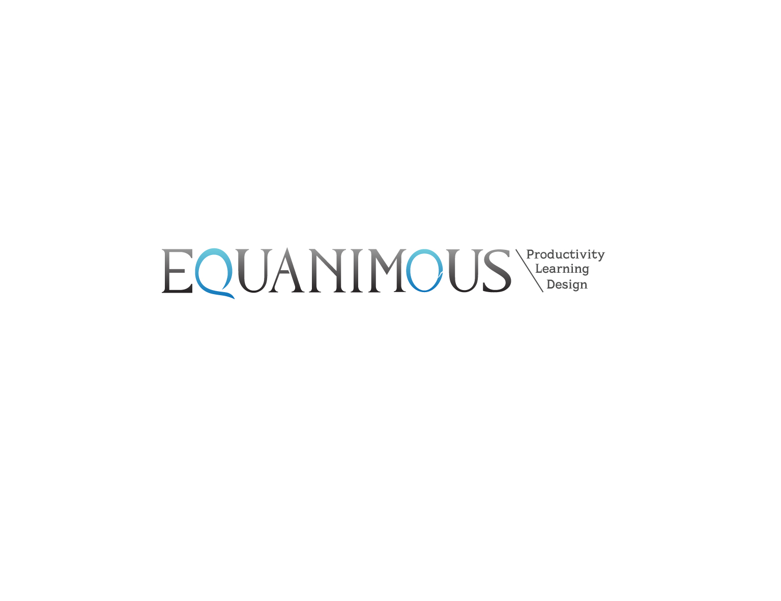 Logo Design by 3draw - Entry No. 414 in the Logo Design Contest Logo Design : EQUANIMOUS : Productivity | Learning | Design.
