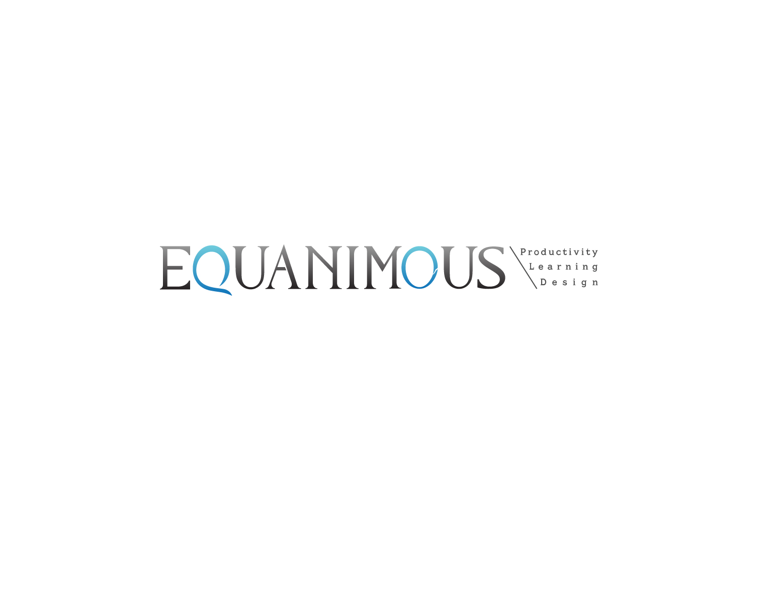 Logo Design by 3draw - Entry No. 415 in the Logo Design Contest Logo Design : EQUANIMOUS : Productivity | Learning | Design.