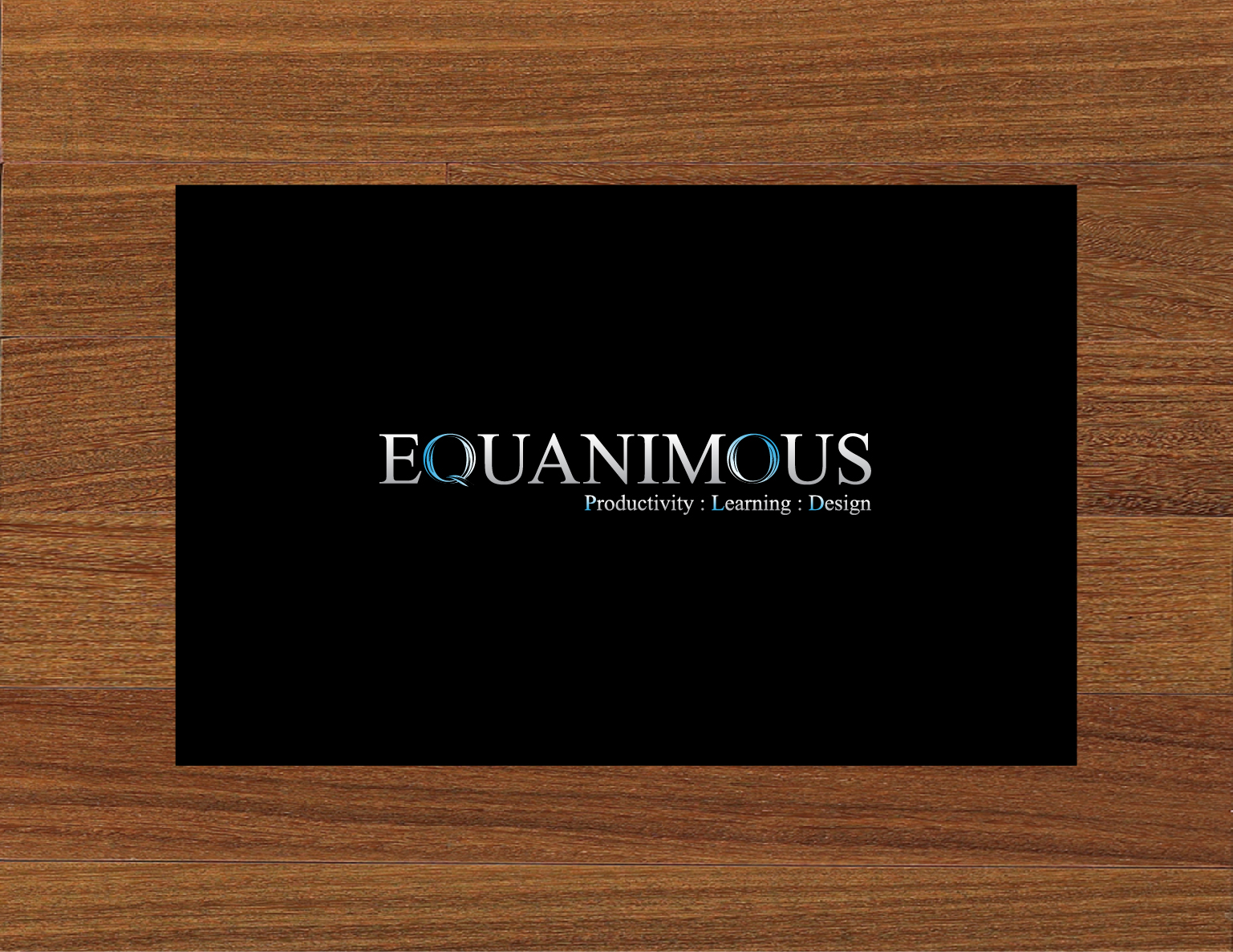 Logo Design by 3draw - Entry No. 416 in the Logo Design Contest Logo Design : EQUANIMOUS : Productivity | Learning | Design.