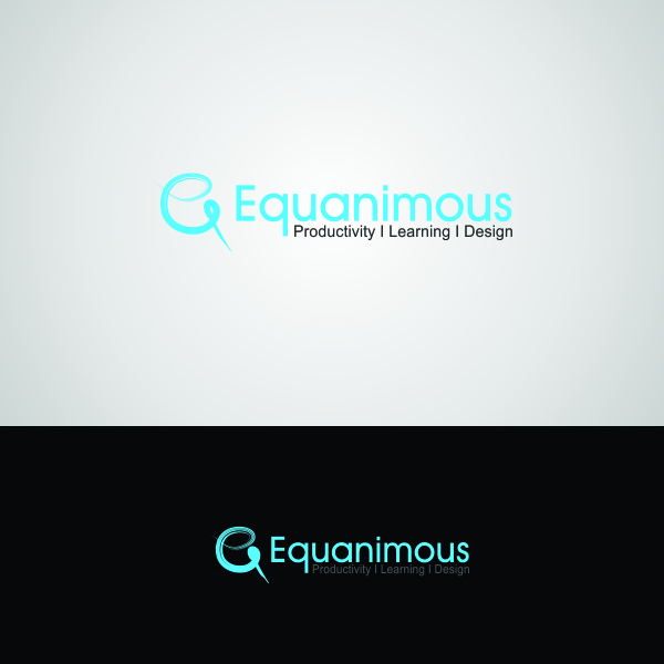 Logo Design by Muhammad Saifuddin - Entry No. 417 in the Logo Design Contest Logo Design : EQUANIMOUS : Productivity | Learning | Design.