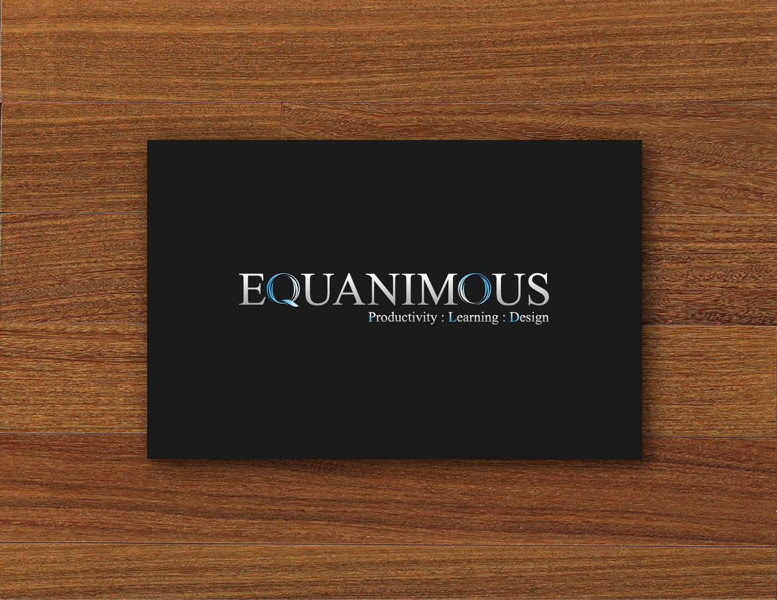 Logo Design by 3draw - Entry No. 418 in the Logo Design Contest Logo Design : EQUANIMOUS : Productivity | Learning | Design.