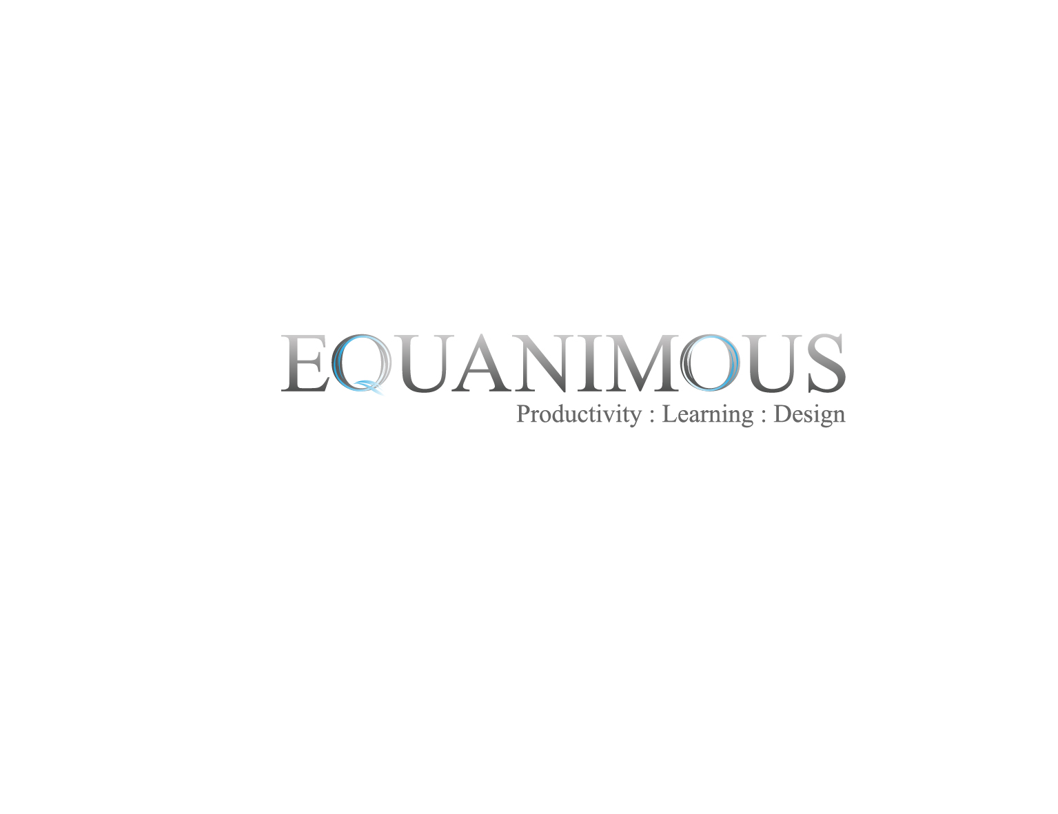 Logo Design by 3draw - Entry No. 421 in the Logo Design Contest Logo Design : EQUANIMOUS : Productivity | Learning | Design.