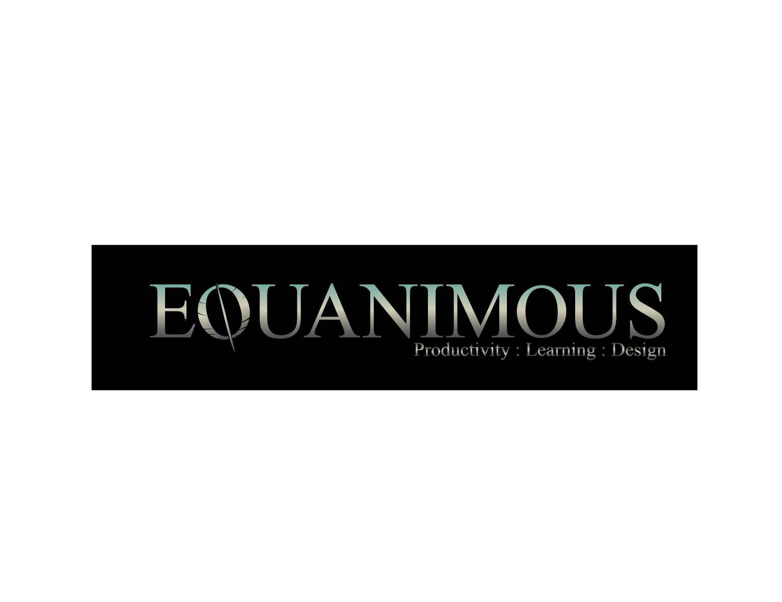 Logo Design by 3draw - Entry No. 422 in the Logo Design Contest Logo Design : EQUANIMOUS : Productivity | Learning | Design.