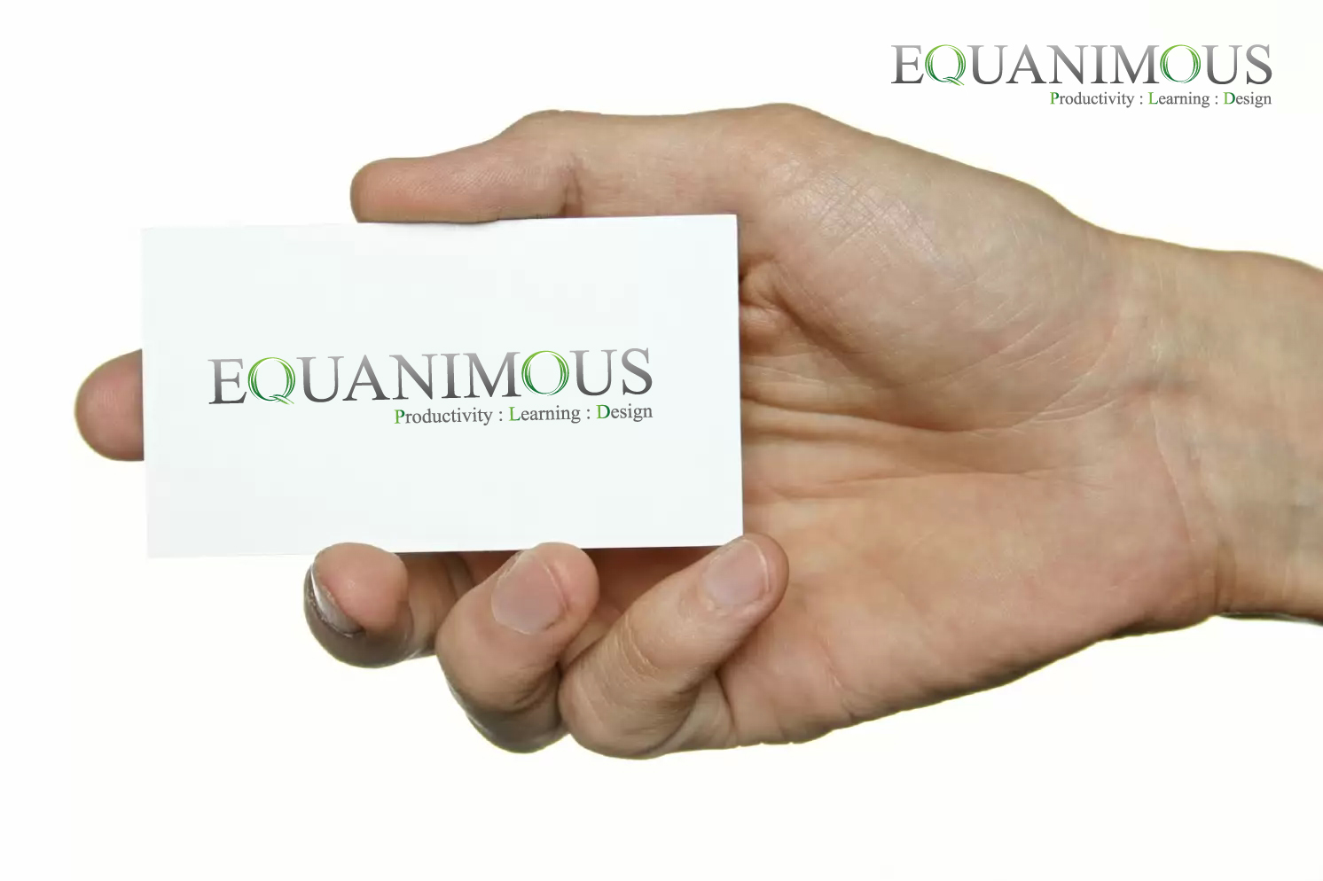 Logo Design by 3draw - Entry No. 425 in the Logo Design Contest Logo Design : EQUANIMOUS : Productivity | Learning | Design.
