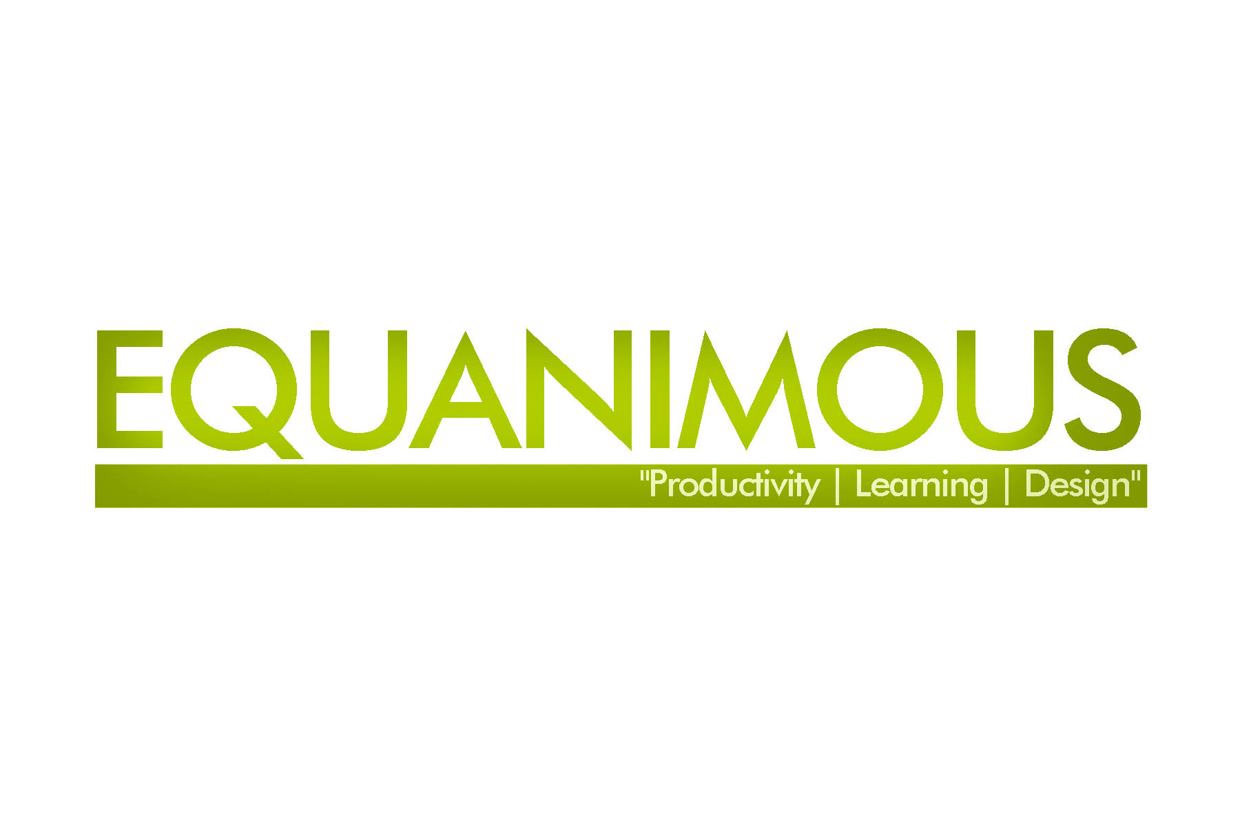 Logo Design by Eduard De Leon - Entry No. 427 in the Logo Design Contest Logo Design : EQUANIMOUS : Productivity | Learning | Design.