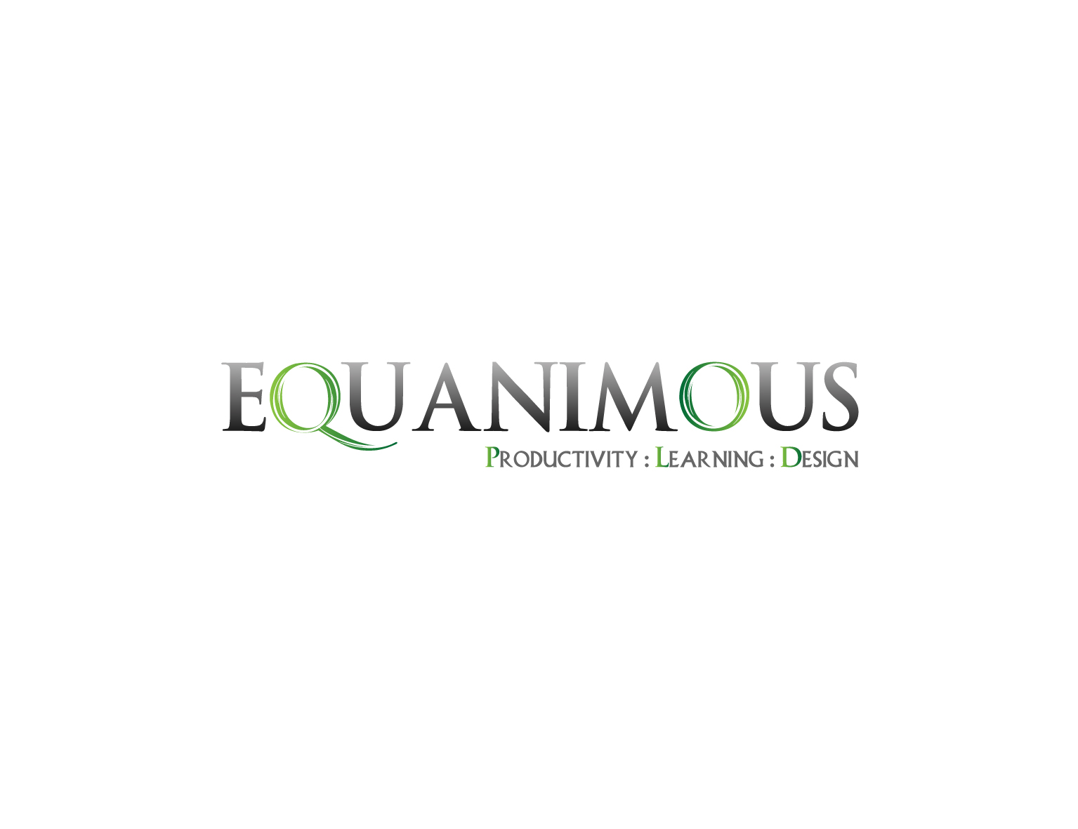 Logo Design by 3draw - Entry No. 428 in the Logo Design Contest Logo Design : EQUANIMOUS : Productivity | Learning | Design.