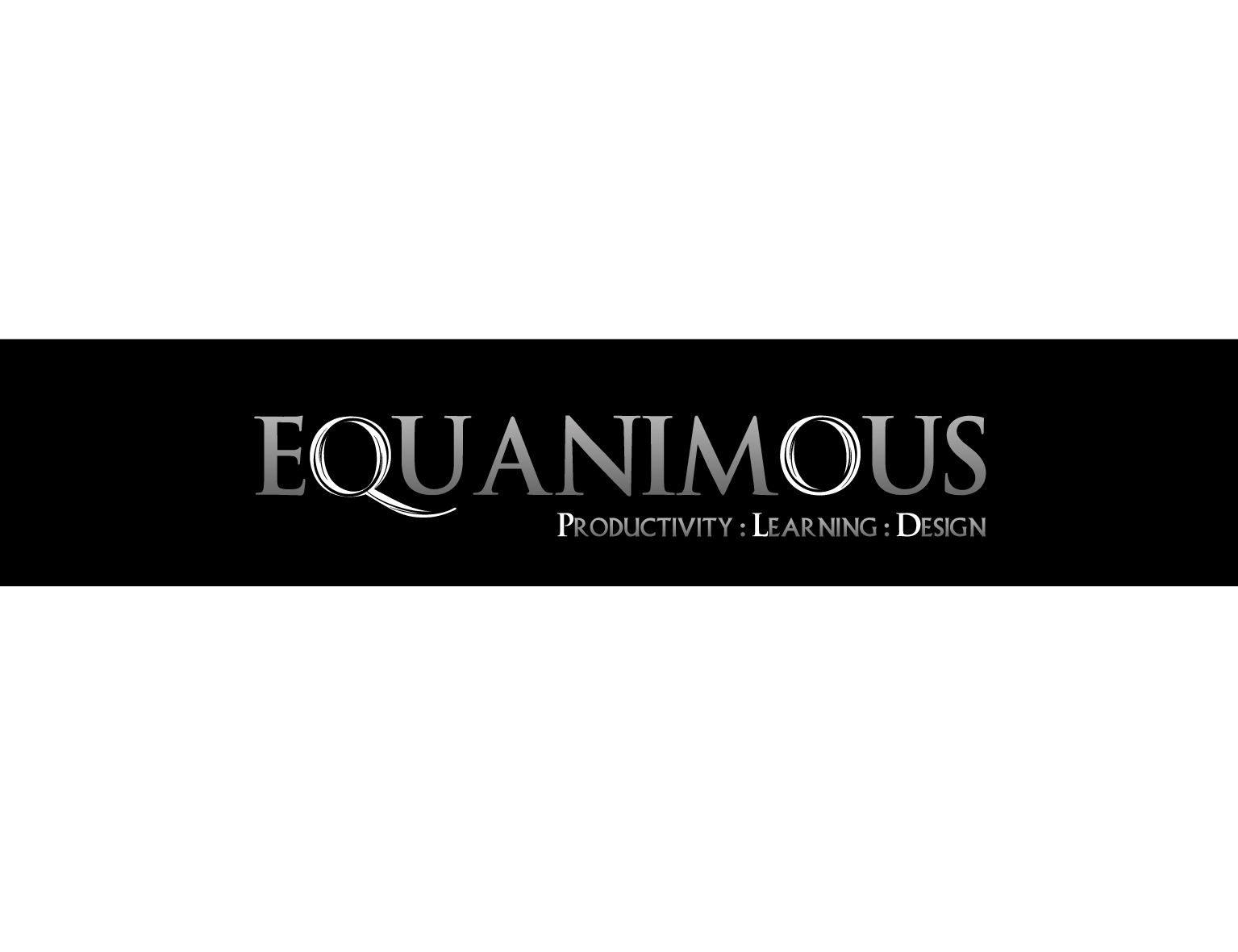 Logo Design by 3draw - Entry No. 429 in the Logo Design Contest Logo Design : EQUANIMOUS : Productivity | Learning | Design.