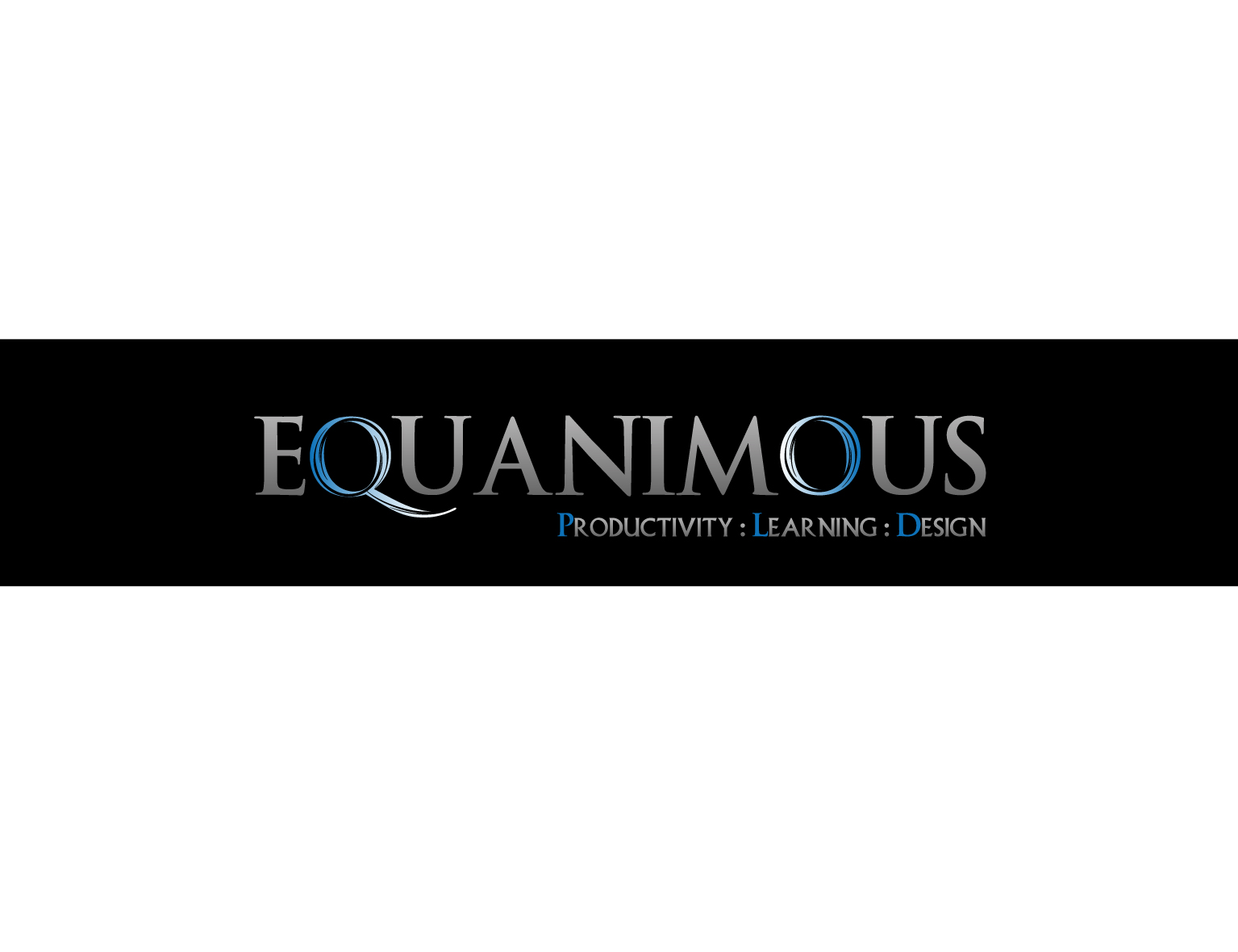 Logo Design by 3draw - Entry No. 430 in the Logo Design Contest Logo Design : EQUANIMOUS : Productivity | Learning | Design.