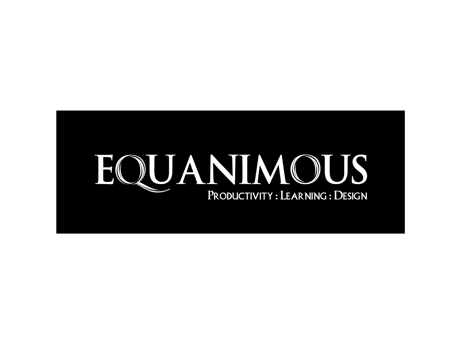 Logo Design by 3draw - Entry No. 431 in the Logo Design Contest Logo Design : EQUANIMOUS : Productivity | Learning | Design.