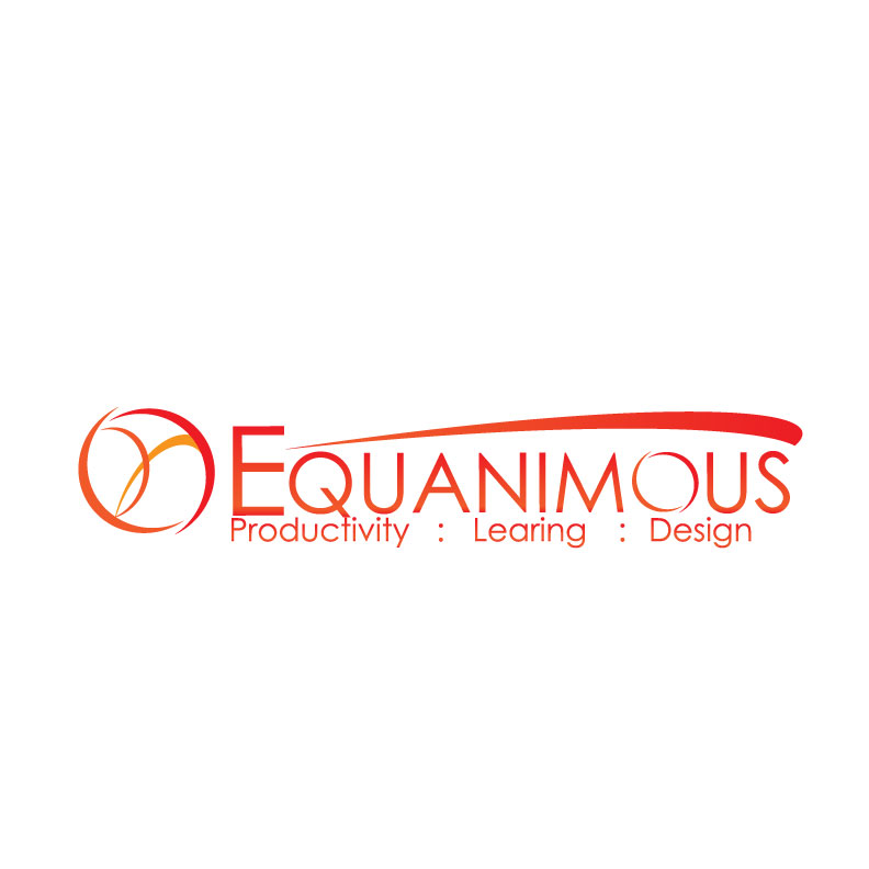 Logo Design by Jack  Wegert - Entry No. 434 in the Logo Design Contest Logo Design : EQUANIMOUS : Productivity | Learning | Design.