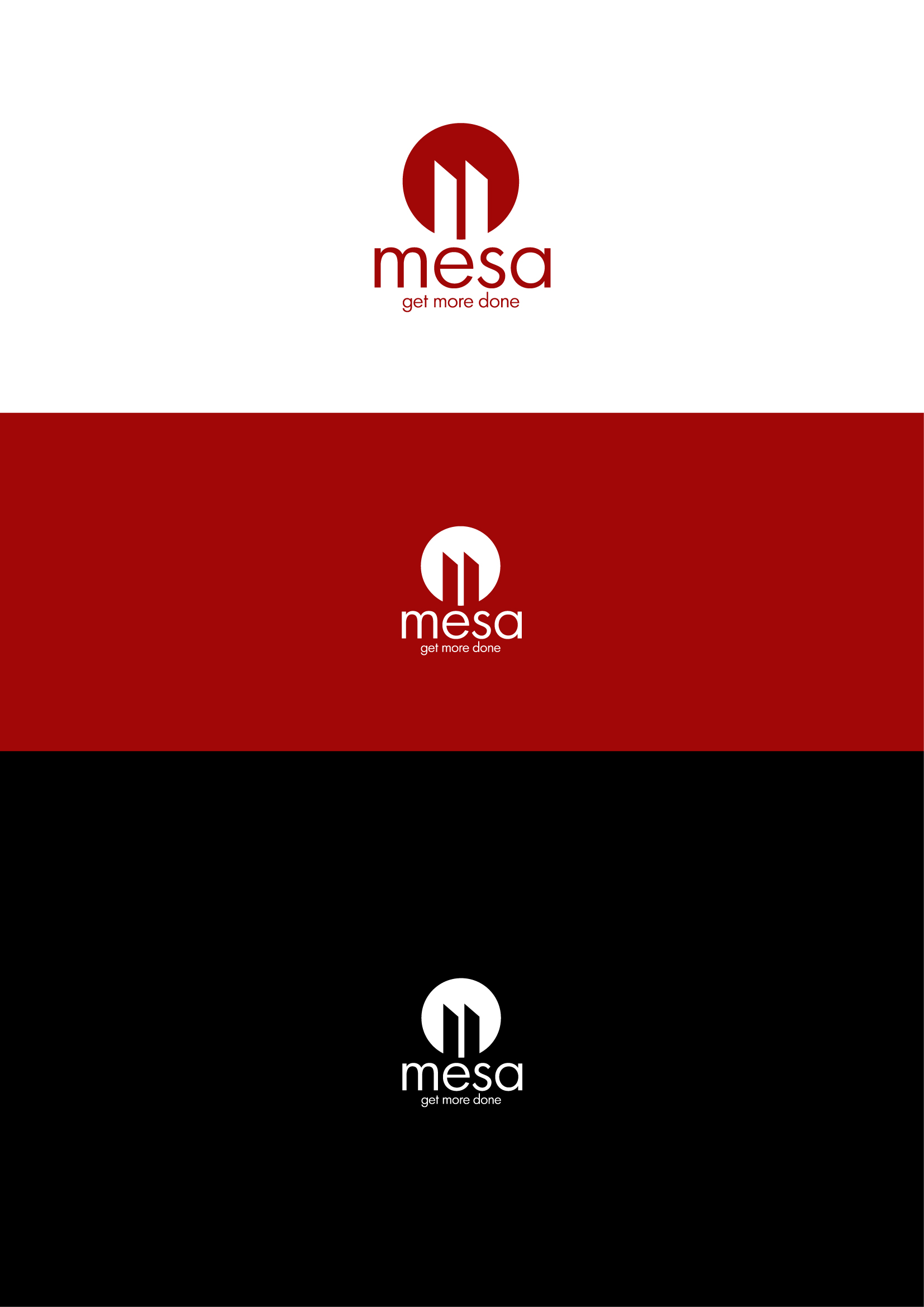 Logo Design by Osi Indra - Entry No. 81 in the Logo Design Contest Logo Design for Mesa.