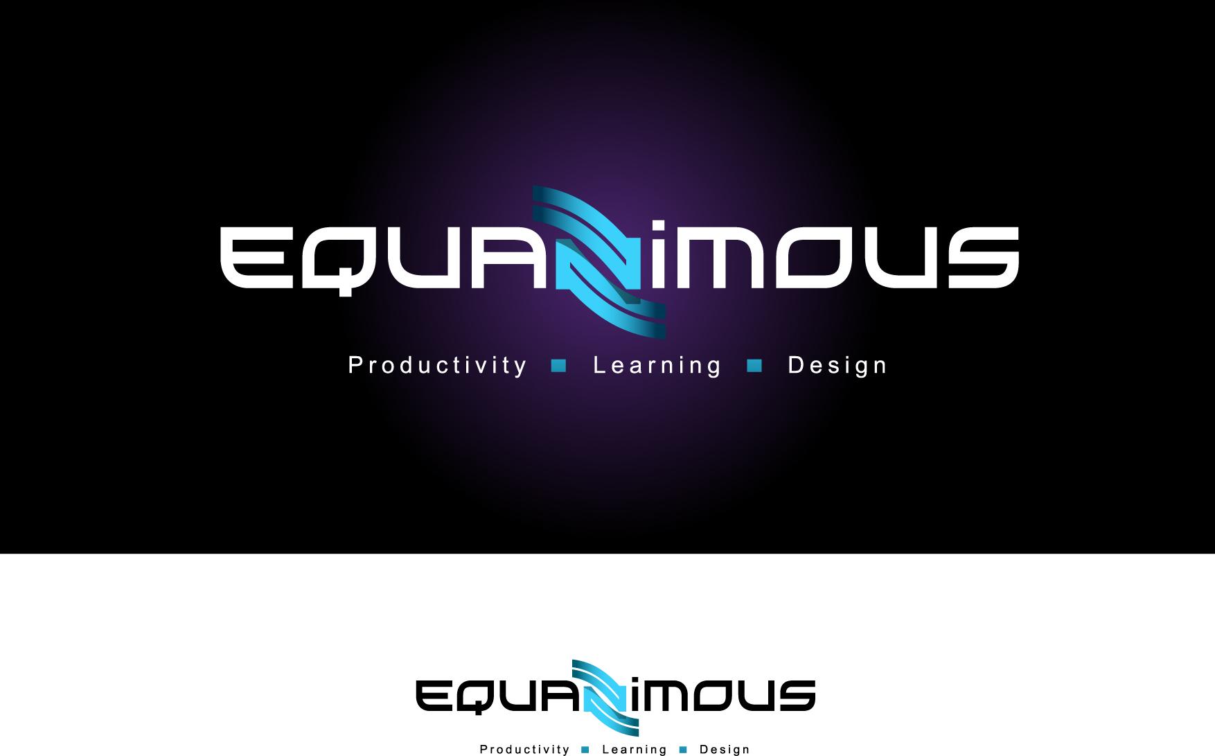 Logo Design by Wilfredo Mendoza - Entry No. 435 in the Logo Design Contest Logo Design : EQUANIMOUS : Productivity | Learning | Design.