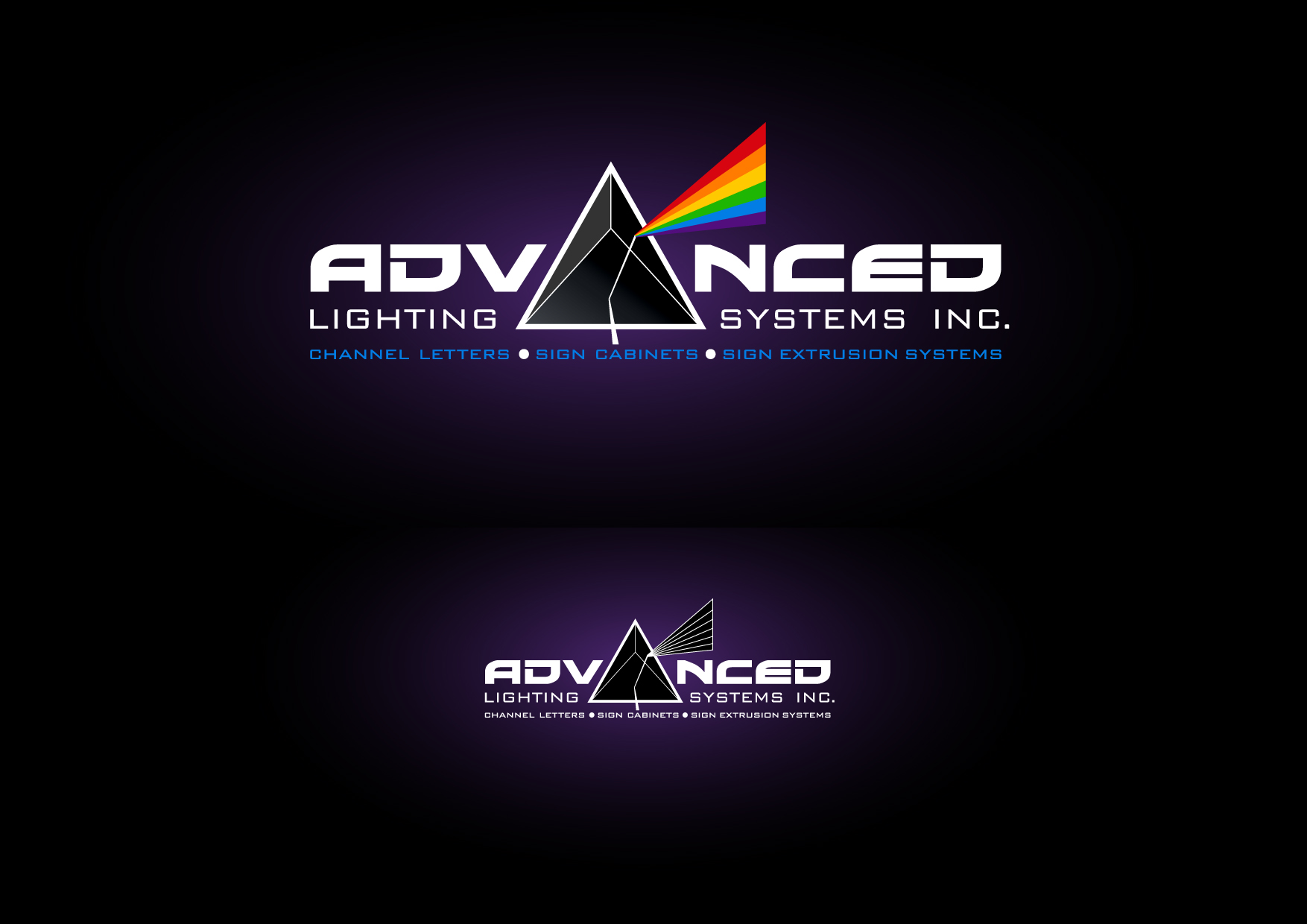 Logo Design by Wilfredo Mendoza - Entry No. 149 in the Logo Design Contest New Logo Design Needed for  Company Advanced Lighting Systems Inc..