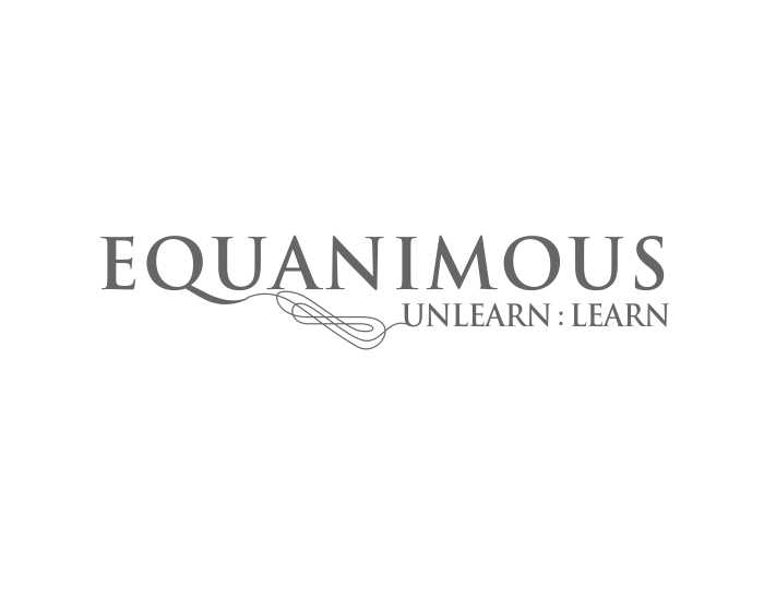 Logo Design by caj - Entry No. 439 in the Logo Design Contest Logo Design : EQUANIMOUS : Productivity | Learning | Design.
