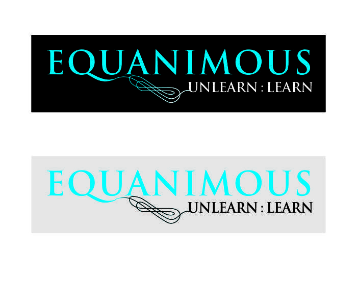 Logo Design by caj - Entry No. 440 in the Logo Design Contest Logo Design : EQUANIMOUS : Productivity | Learning | Design.