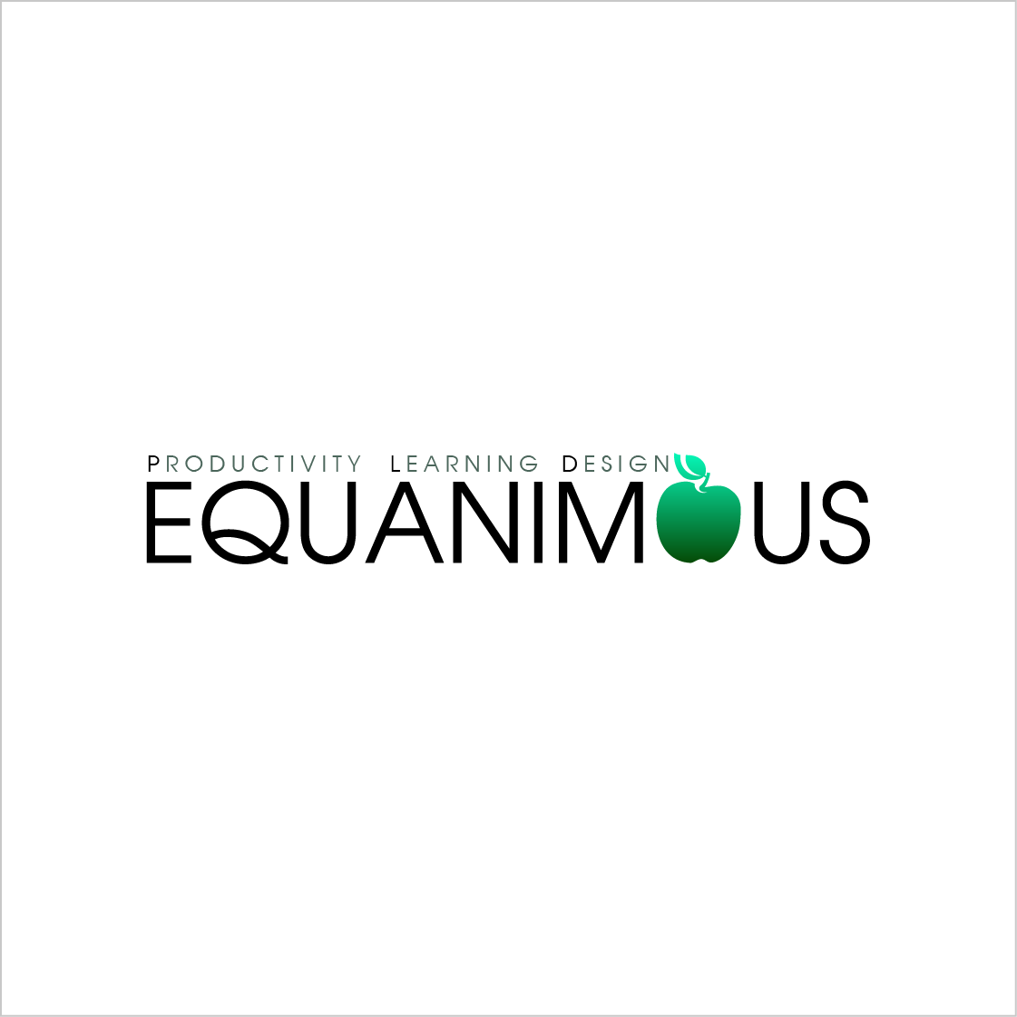 Logo Design by extravaganza - Entry No. 452 in the Logo Design Contest Logo Design : EQUANIMOUS : Productivity | Learning | Design.