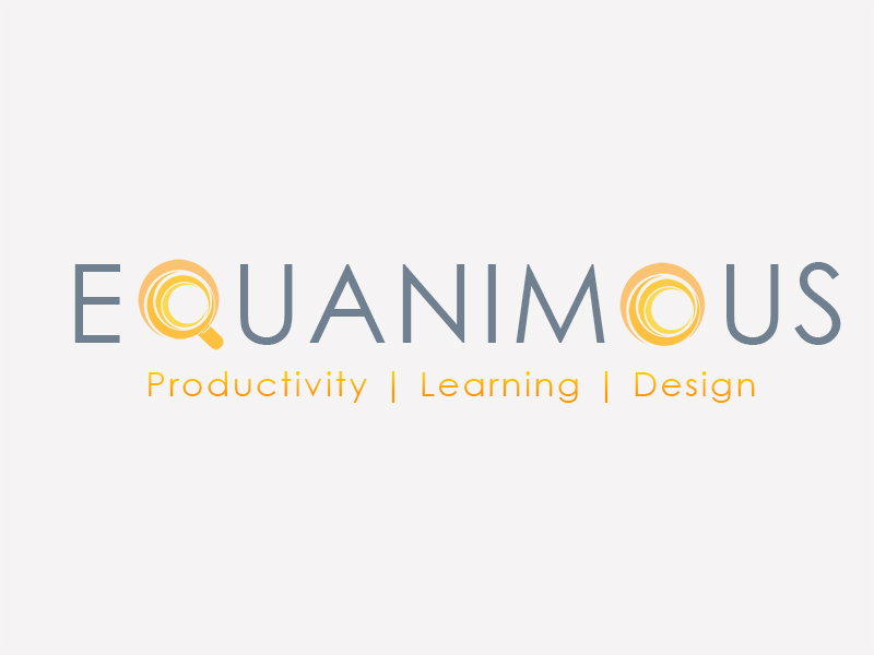 Logo Design by Mythos Designs - Entry No. 455 in the Logo Design Contest Logo Design : EQUANIMOUS : Productivity | Learning | Design.