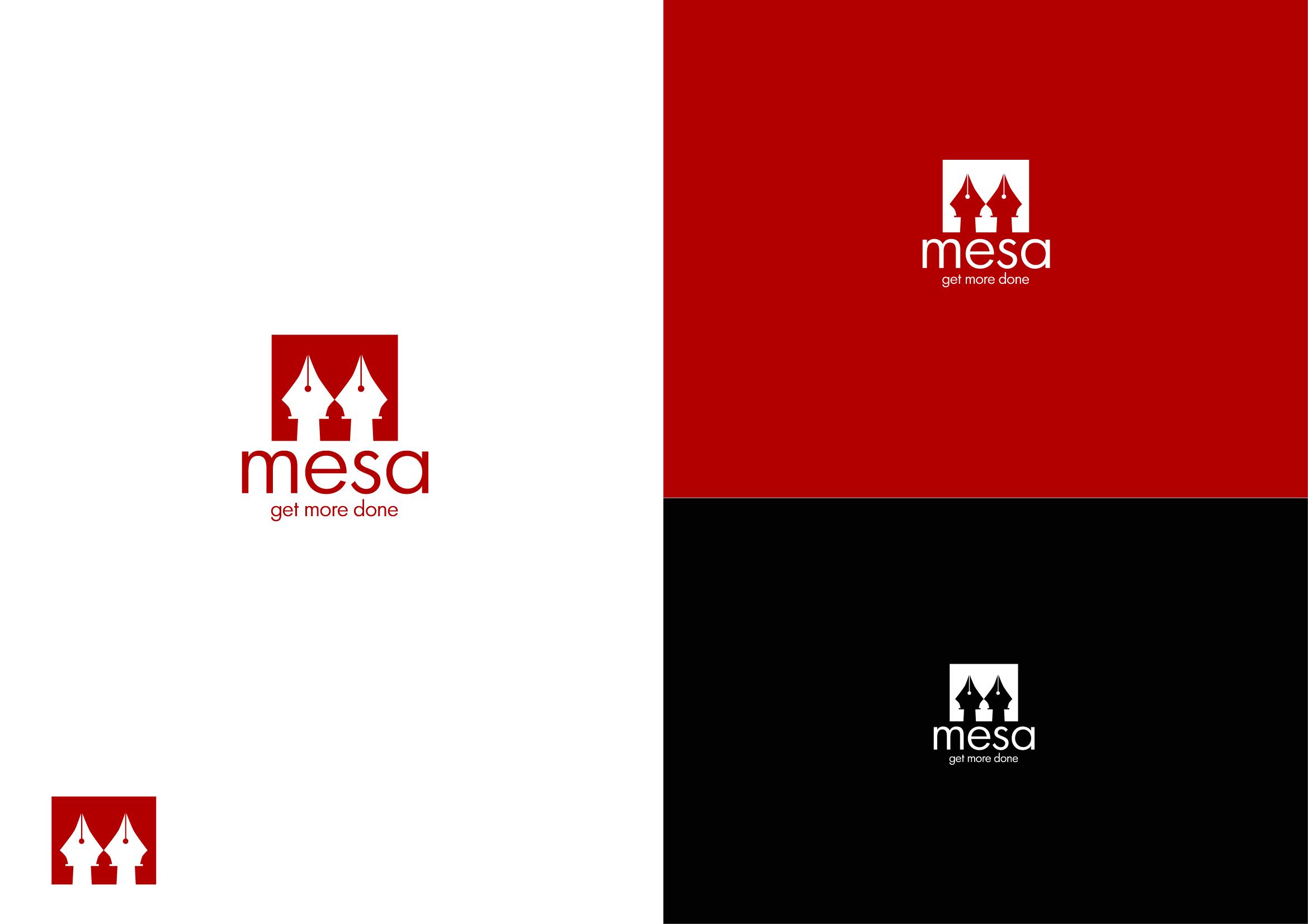 Logo Design by Osi Indra - Entry No. 89 in the Logo Design Contest Logo Design for Mesa.