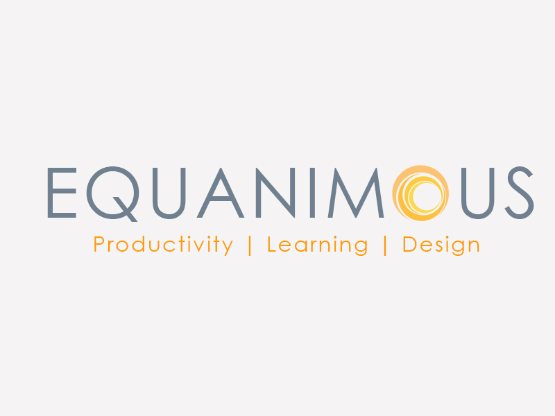 Logo Design by Mythos Designs - Entry No. 458 in the Logo Design Contest Logo Design : EQUANIMOUS : Productivity | Learning | Design.