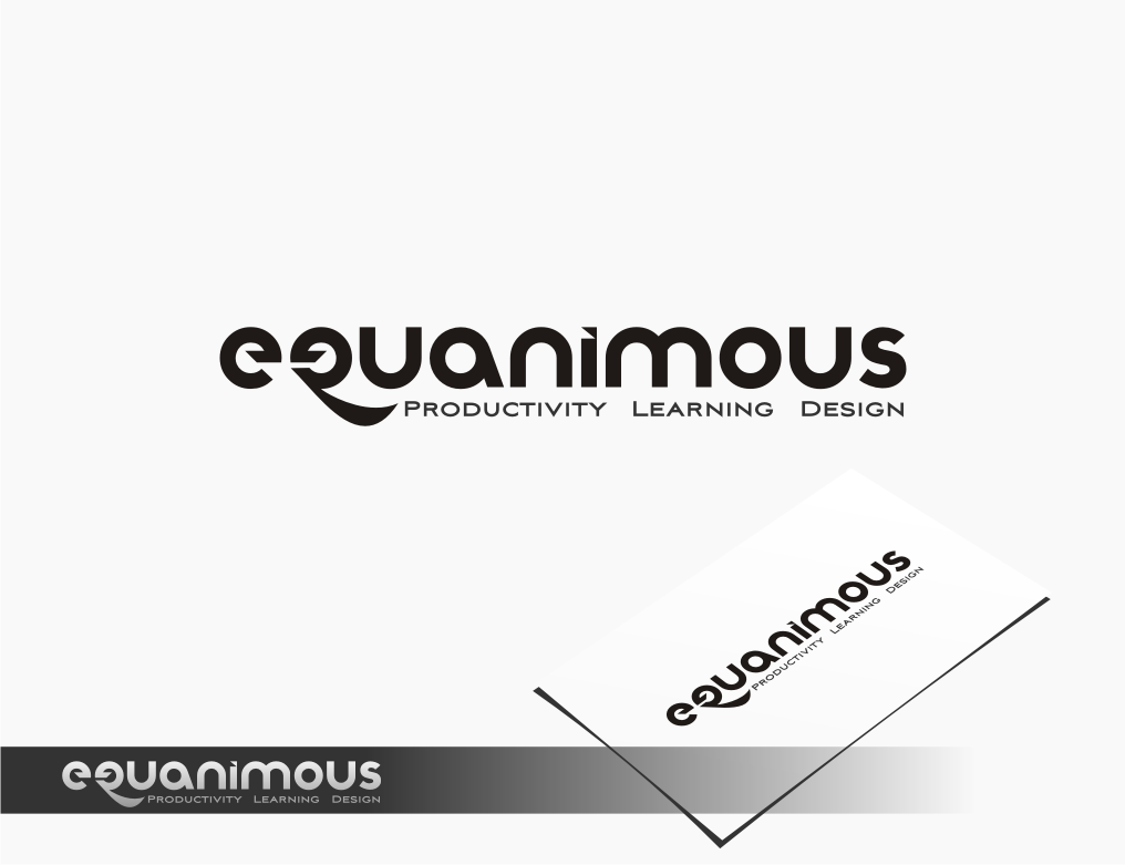 Logo Design by graphicleaf - Entry No. 460 in the Logo Design Contest Logo Design : EQUANIMOUS : Productivity | Learning | Design.