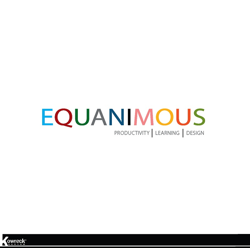 Logo Design by kowreck - Entry No. 461 in the Logo Design Contest Logo Design : EQUANIMOUS : Productivity | Learning | Design.