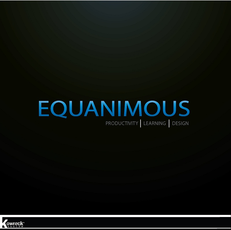 Logo Design by kowreck - Entry No. 463 in the Logo Design Contest Logo Design : EQUANIMOUS : Productivity | Learning | Design.