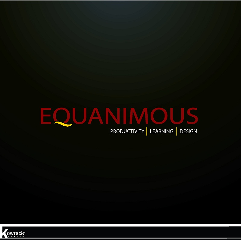 Logo Design by kowreck - Entry No. 464 in the Logo Design Contest Logo Design : EQUANIMOUS : Productivity | Learning | Design.