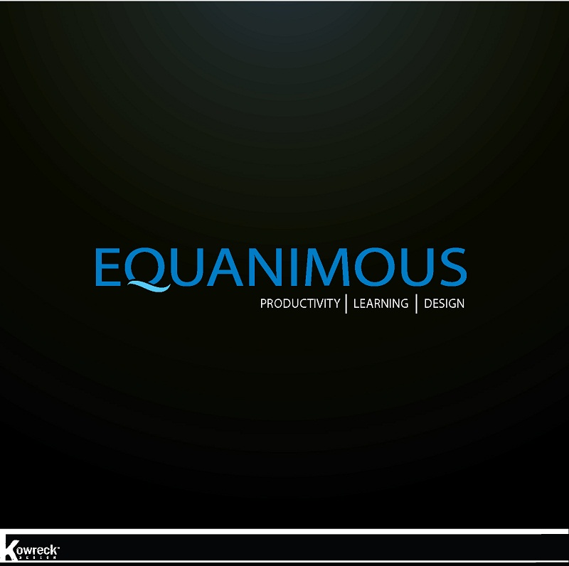 Logo Design by kowreck - Entry No. 465 in the Logo Design Contest Logo Design : EQUANIMOUS : Productivity | Learning | Design.