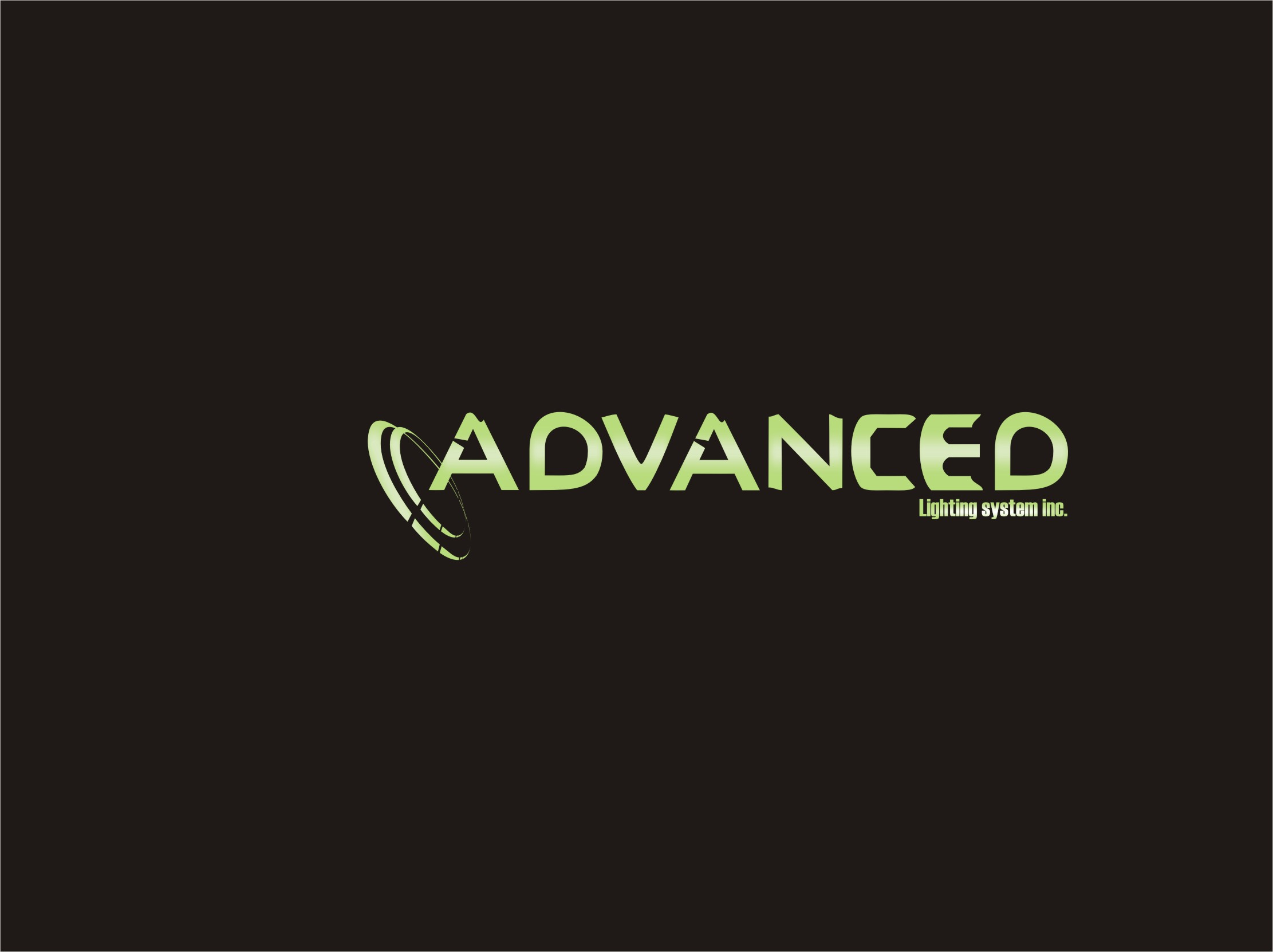 Logo Design by Private User - Entry No. 154 in the Logo Design Contest New Logo Design Needed for  Company Advanced Lighting Systems Inc..