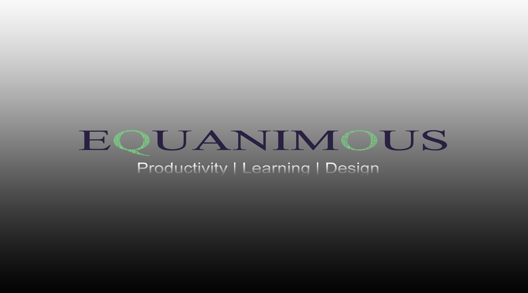Logo Design by DOUMA AMINE - Entry No. 489 in the Logo Design Contest Logo Design : EQUANIMOUS : Productivity | Learning | Design.
