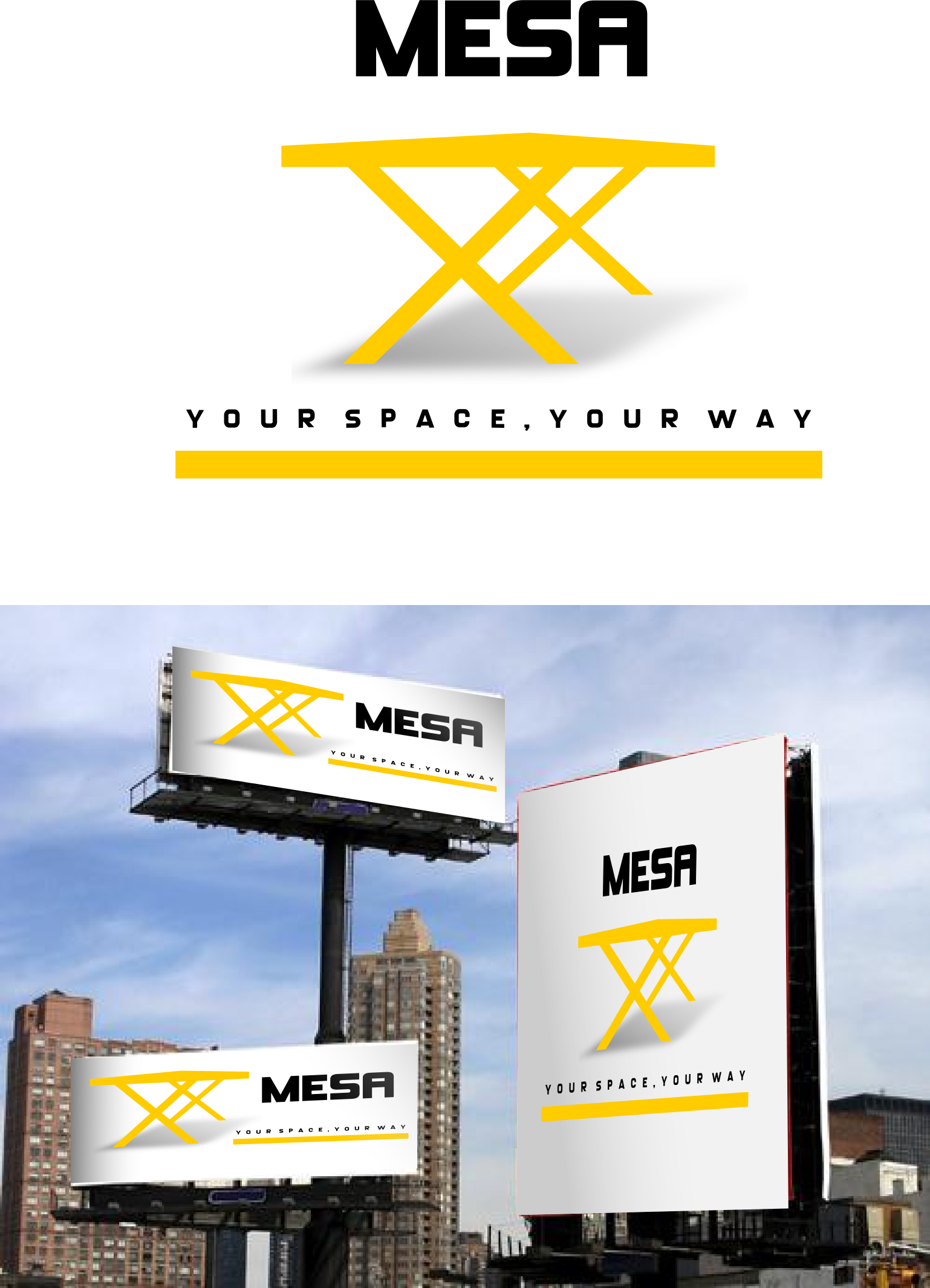 Logo Design by whoosef - Entry No. 91 in the Logo Design Contest Logo Design for Mesa.